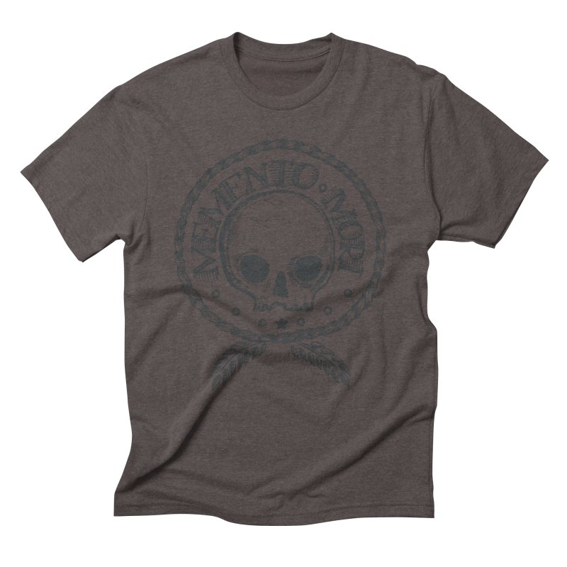 Remember that you must die. Men's Triblend T-Shirt by pagata's Artist Shop