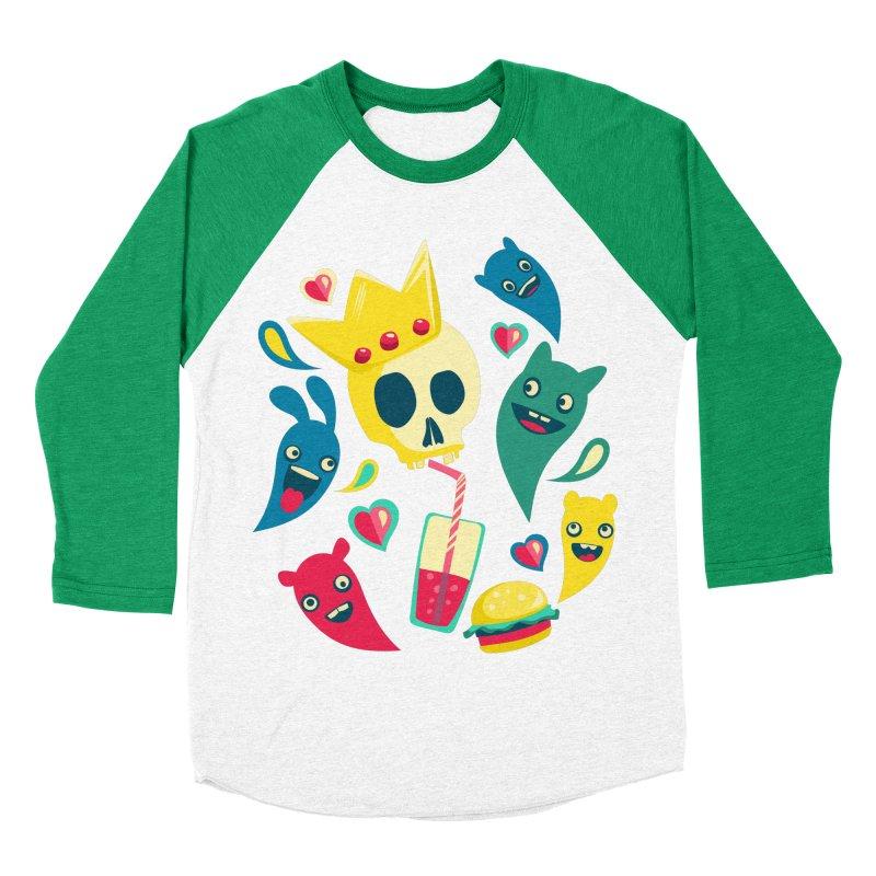 Diet starts next monday Men's Baseball Triblend T-Shirt by pagata's Artist Shop