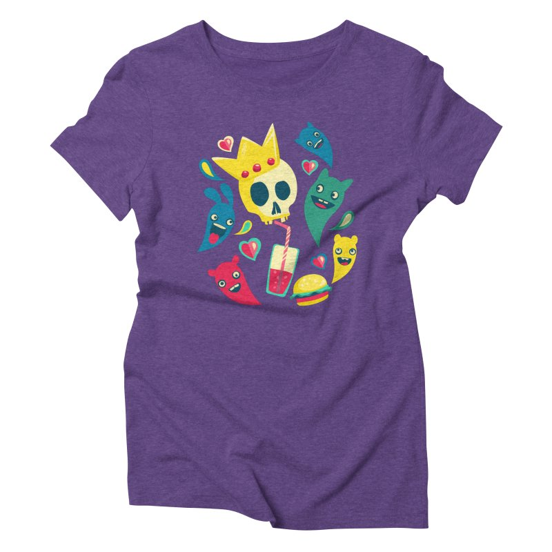 Diet starts next monday Women's Triblend T-shirt by pagata's Artist Shop