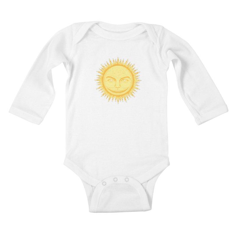 PanSol Kids Baby Longsleeve Bodysuit by pagata's Artist Shop
