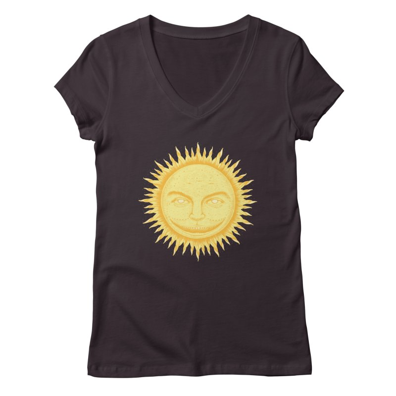 PanSol Women's V-Neck by pagata's Artist Shop