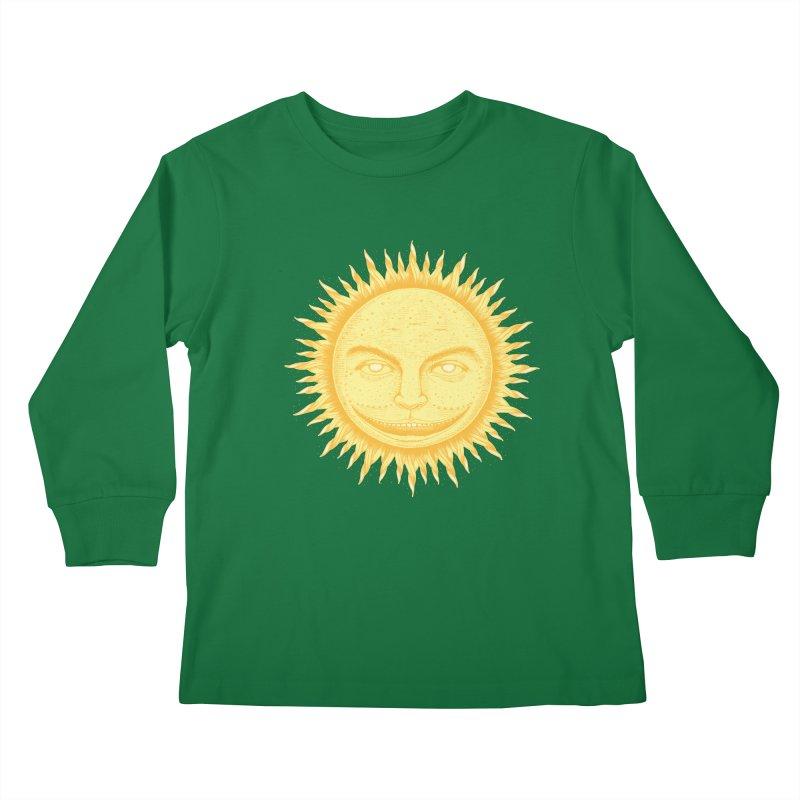 PanSol Kids Longsleeve T-Shirt by pagata's Artist Shop
