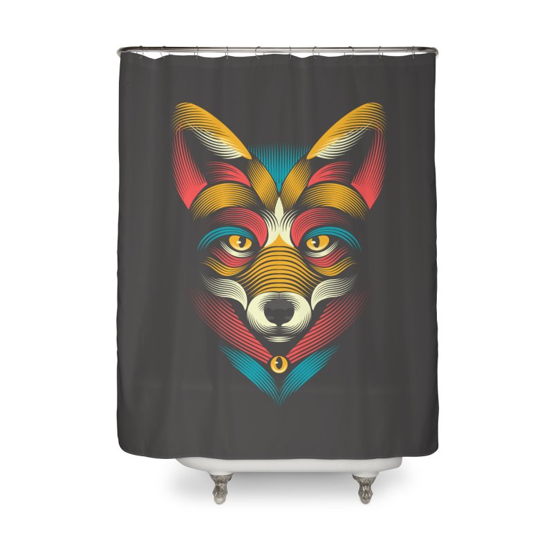 FOXoul Home Shower Curtain by PAgata's Artist Shop