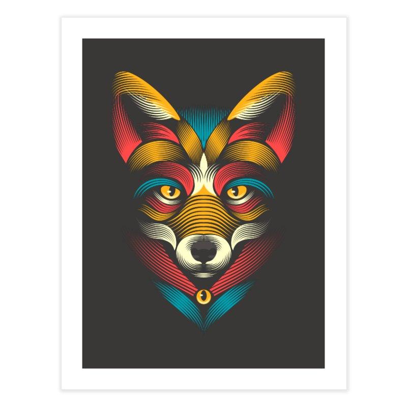 FOXoul Home Fine Art Print by PAgata's Artist Shop