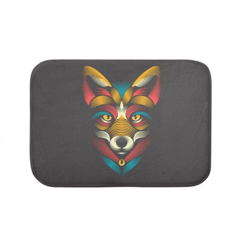 FOXoul Home Bath Mat by PAgata's Artist Shop