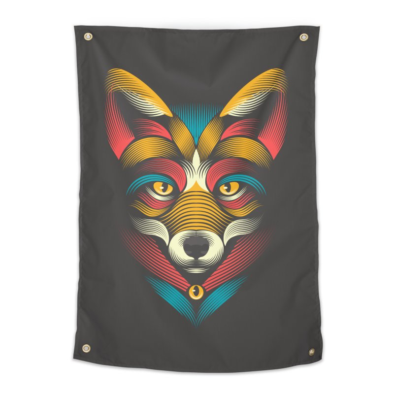 FOXoul Home Tapestry by PAgata's Artist Shop