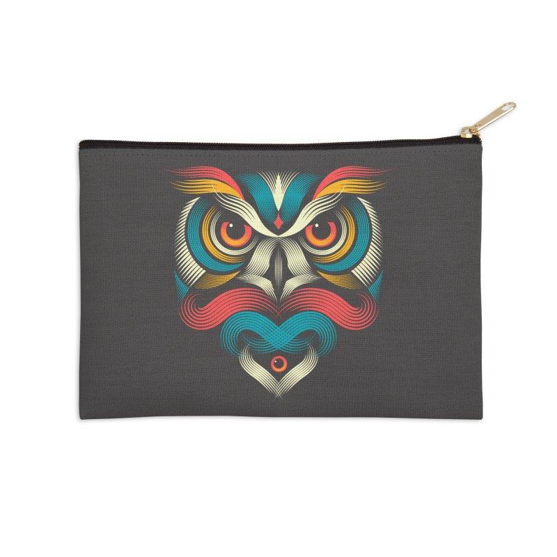 Sowl Accessories Zip Pouch by PAgata's Artist Shop