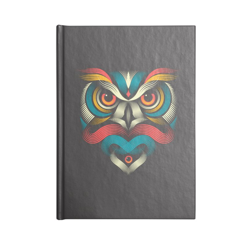 Sowl Accessories Notebook by PAgata's Artist Shop