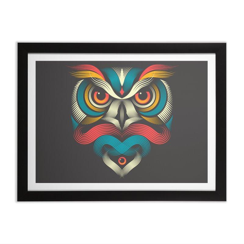 Sowl Home Framed Fine Art Print by PAgata's Artist Shop