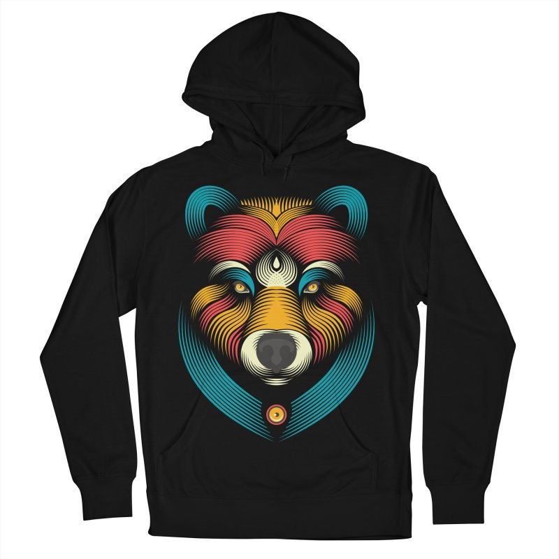 BEARsoul Men's Pullover Hoody by PAgata's Artist Shop