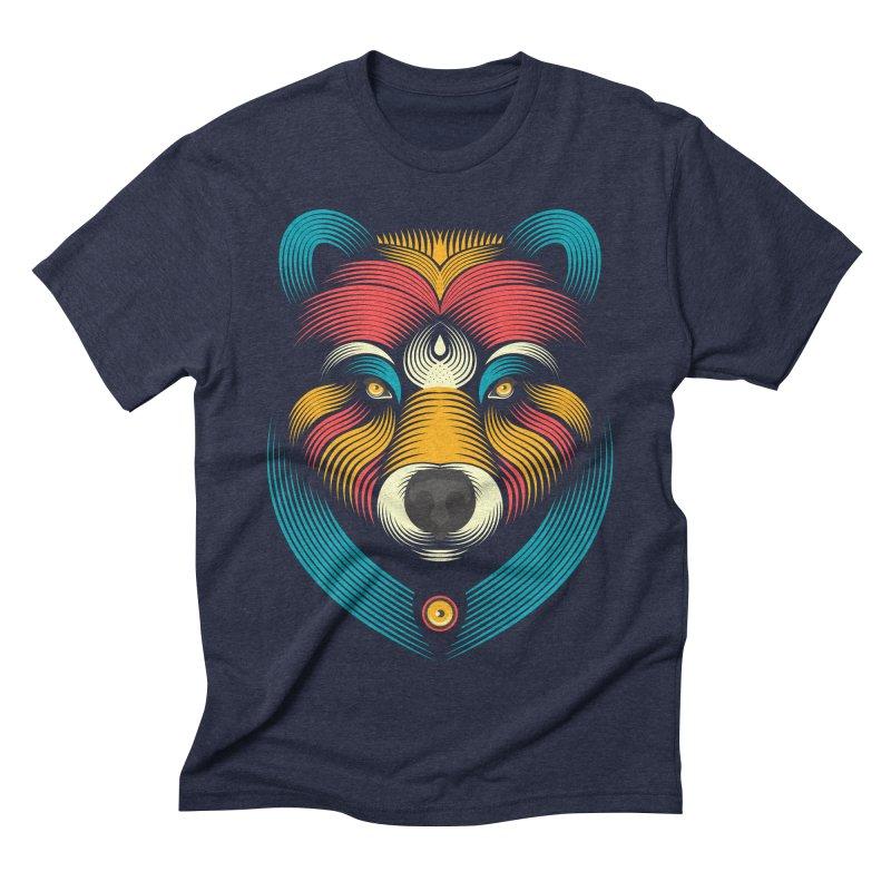BEARsoul Men's Triblend T-Shirt by PAgata's Artist Shop