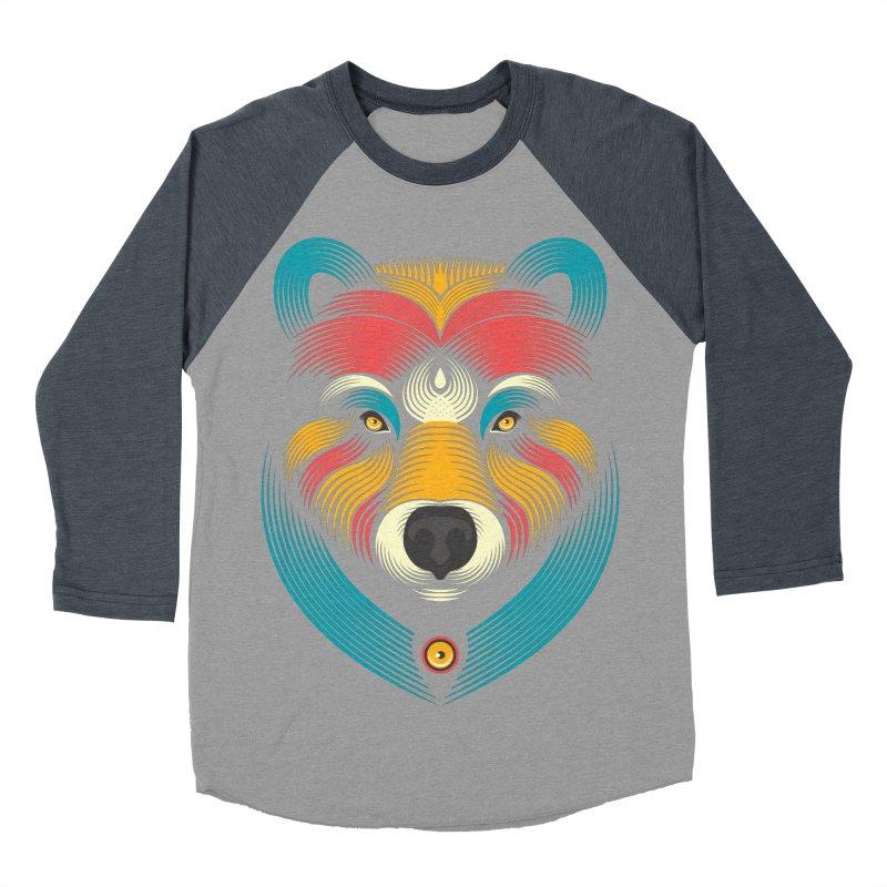 BEARsoul Women's Baseball Triblend T-Shirt by PAgata's Artist Shop