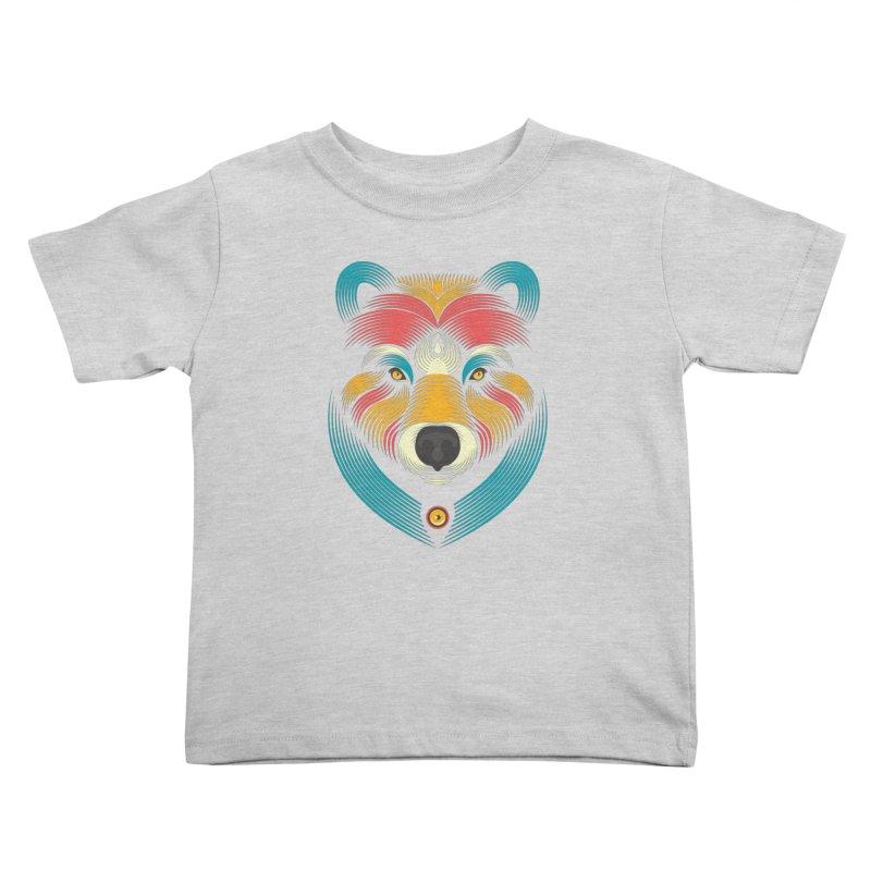 BEARsoul Kids Toddler T-Shirt by PAgata's Artist Shop