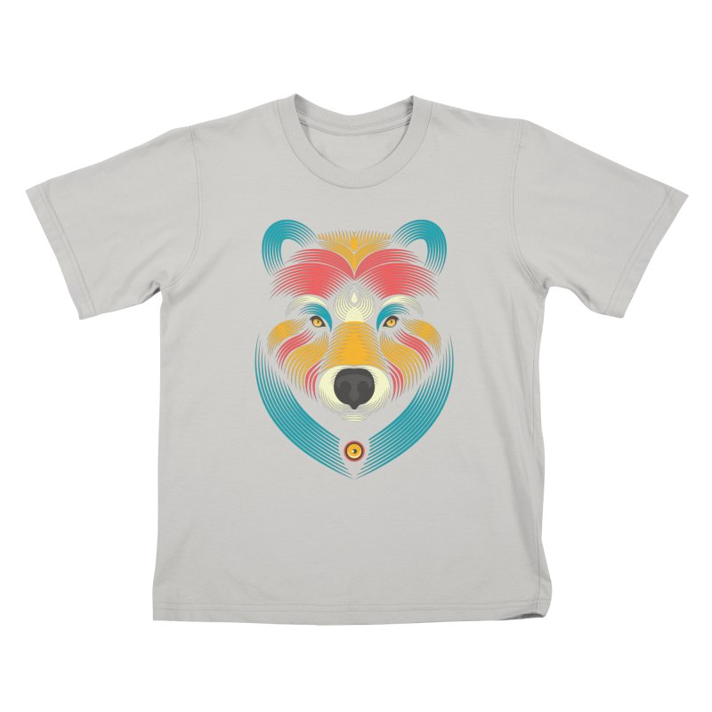BEARsoul Kids T-Shirt by PAgata's Artist Shop