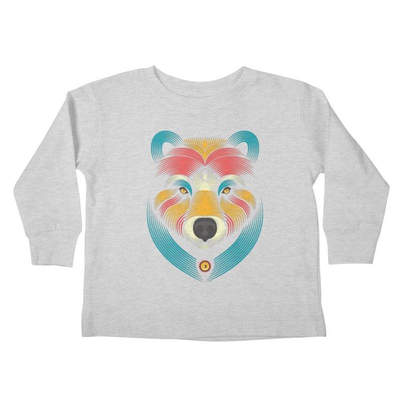BEARsoul Kids Toddler Longsleeve T-Shirt by PAgata's Artist Shop
