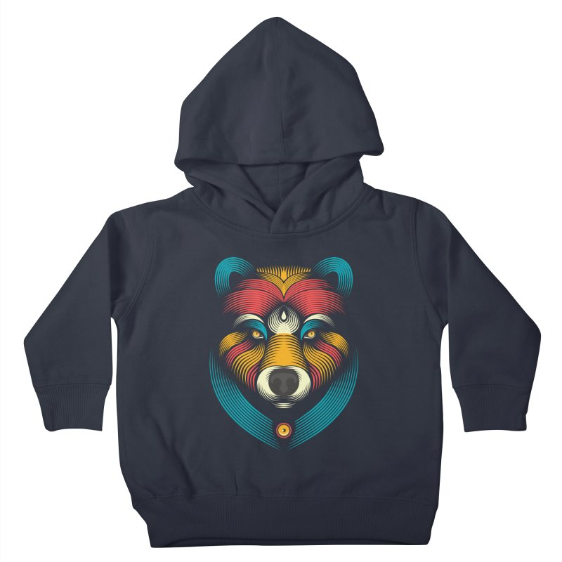 BEARsoul Kids Toddler Pullover Hoody by PAgata's Artist Shop