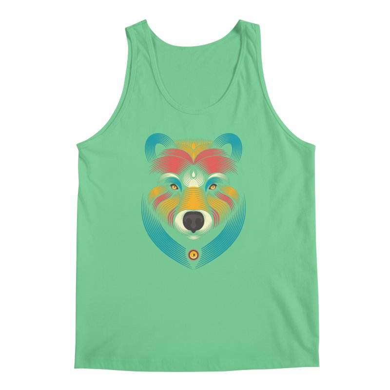 BEARsoul Men's Tank by PAgata's Artist Shop