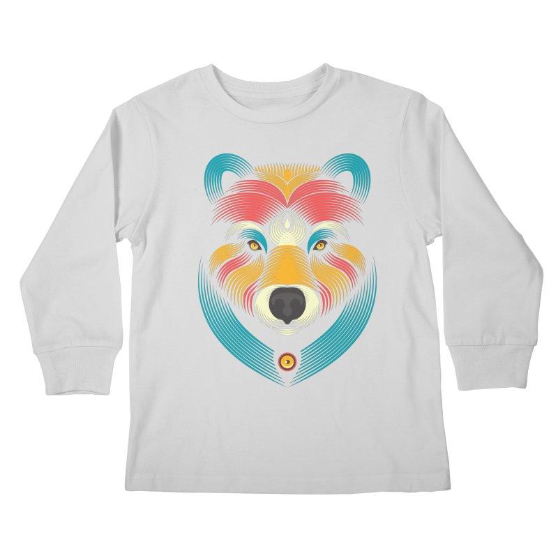 BEARsoul Kids Longsleeve T-Shirt by PAgata's Artist Shop