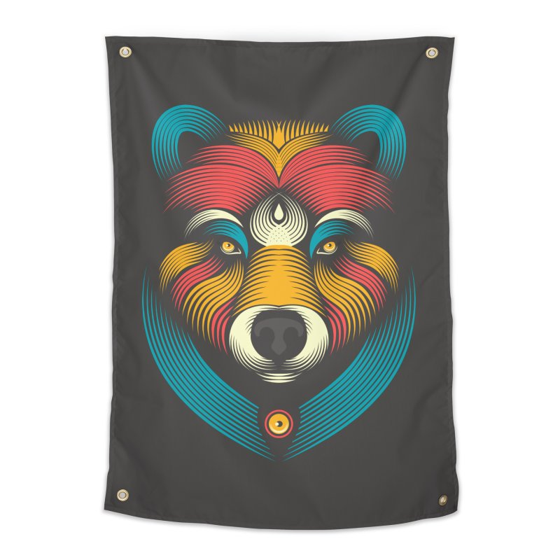BEARsoul Home Tapestry by PAgata's Artist Shop