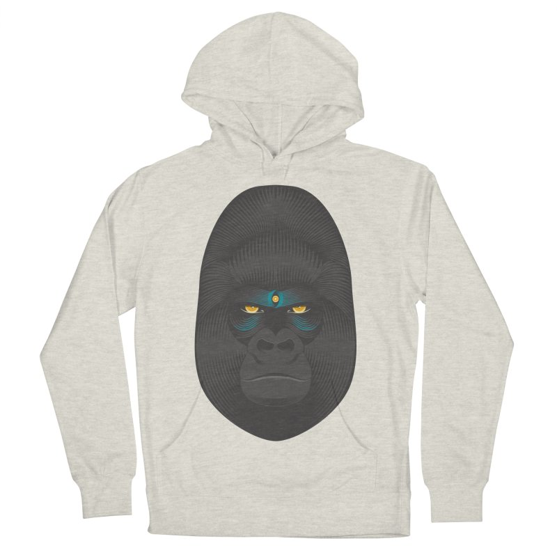 Gorilla soul - light colors clothes Men's Pullover Hoody by PAgata's Artist Shop