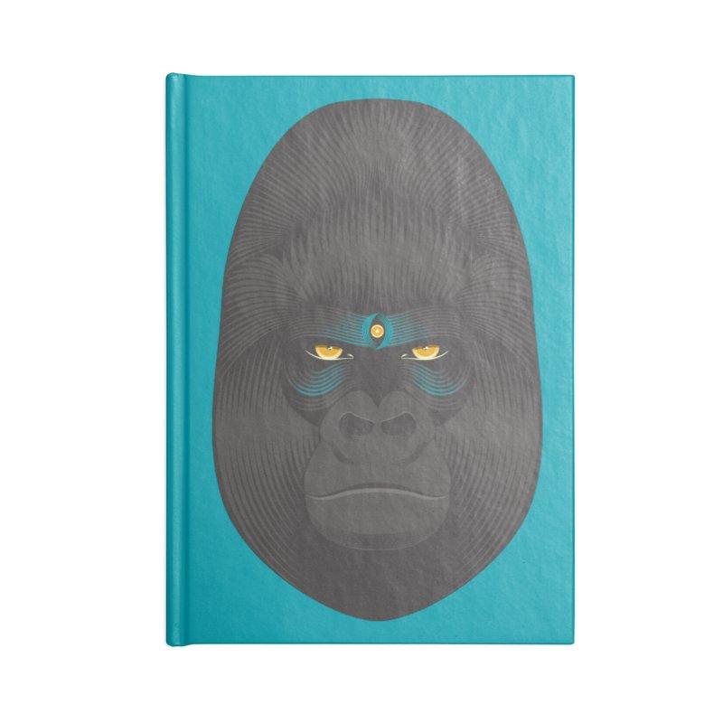 Gorilla soul - light colors clothes Accessories Notebook by PAgata's Artist Shop