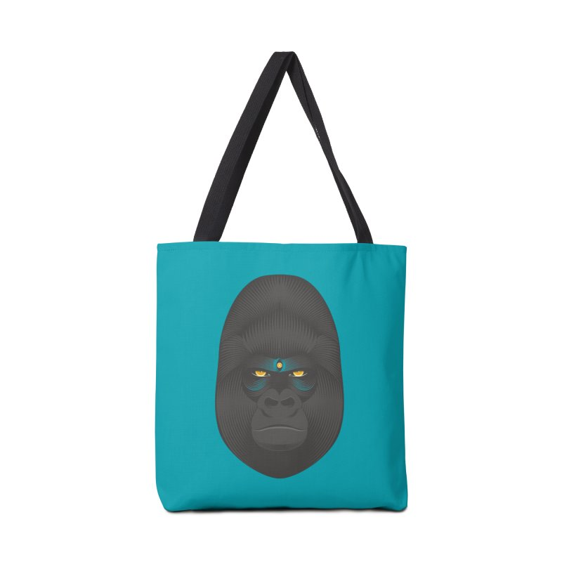 Gorilla soul - light colors clothes Accessories Bag by PAgata's Artist Shop
