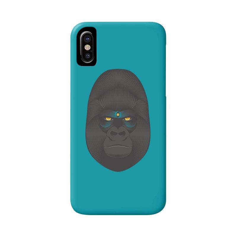 Gorilla soul - light colors clothes Accessories Phone Case by PAgata's Artist Shop
