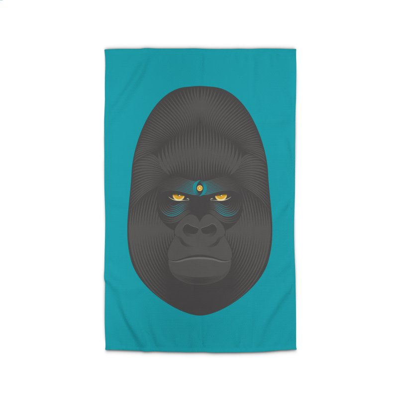 Gorilla soul - light colors clothes Home Rug by PAgata's Artist Shop
