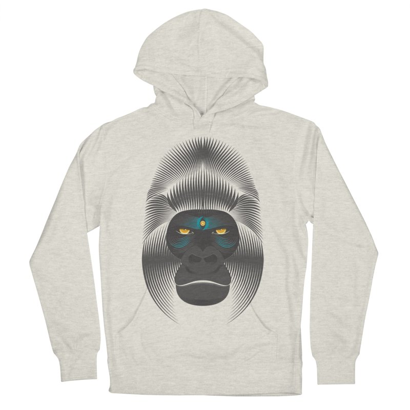 Gorilla soul - dark colours clothes Men's Pullover Hoody by PAgata's Artist Shop