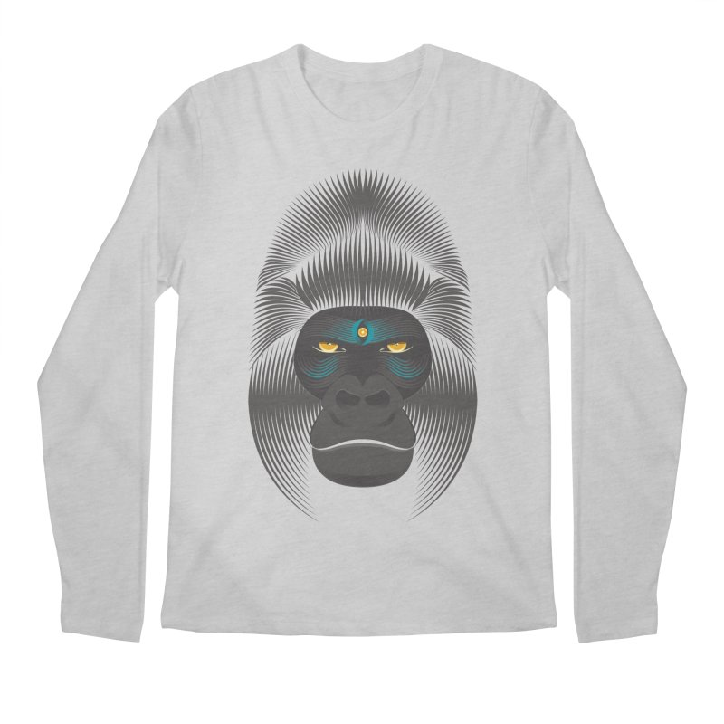 Gorilla soul - dark colours clothes Men's Longsleeve T-Shirt by PAgata's Artist Shop
