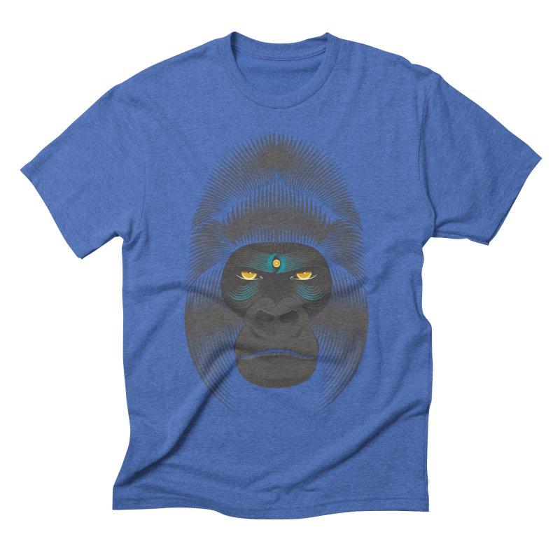 Gorilla soul - dark colours clothes Men's Triblend T-Shirt by PAgata's Artist Shop