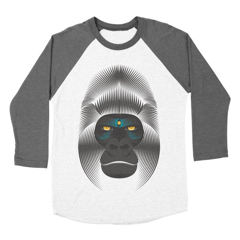 Gorilla soul - dark colours clothes Women's Baseball Triblend T-Shirt by PAgata's Artist Shop