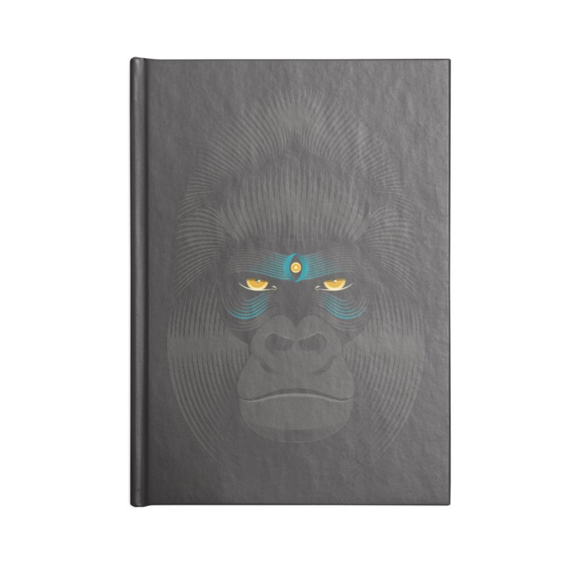 Gorilla soul - dark colours clothes Accessories Notebook by PAgata's Artist Shop