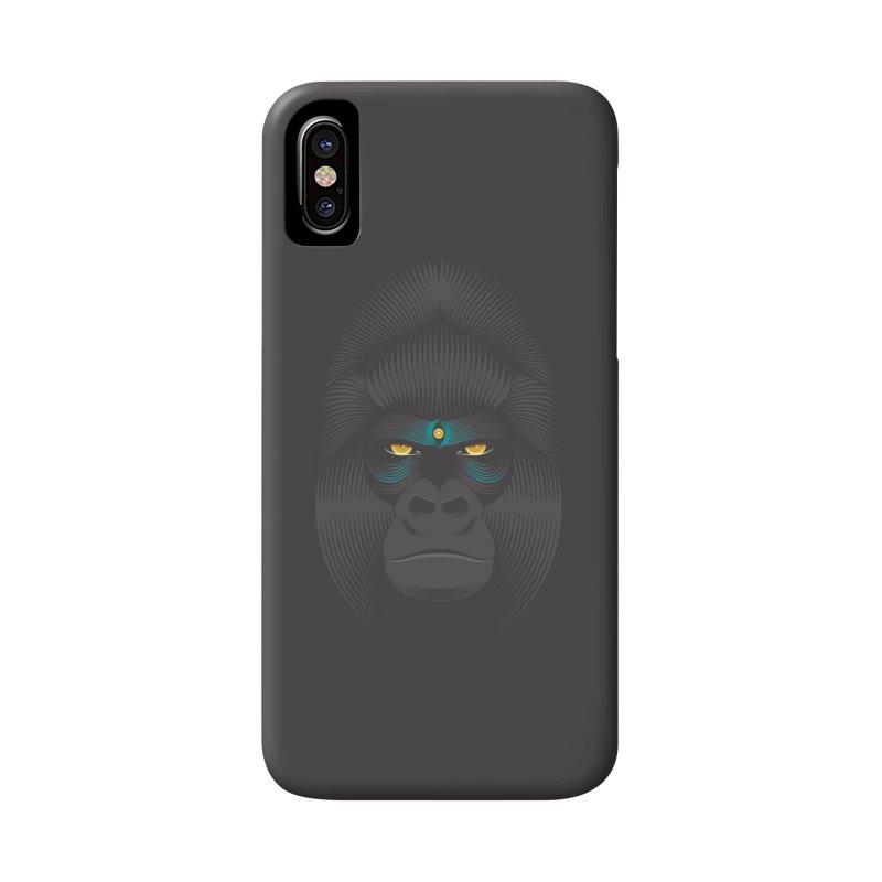 Gorilla soul - dark colours clothes Accessories Phone Case by PAgata's Artist Shop
