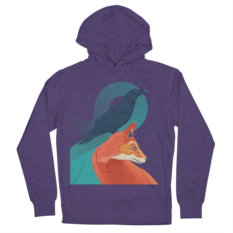 Friends or enemies? Women's Pullover Hoody by PAgata's Artist Shop