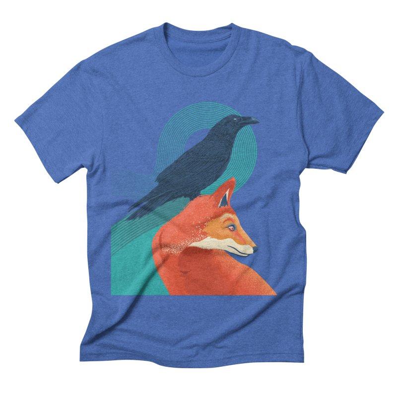 Friends or enemies? Men's Triblend T-Shirt by PAgata's Artist Shop