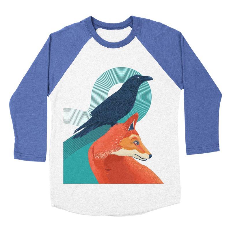 Friends or enemies? Women's Baseball Triblend T-Shirt by PAgata's Artist Shop