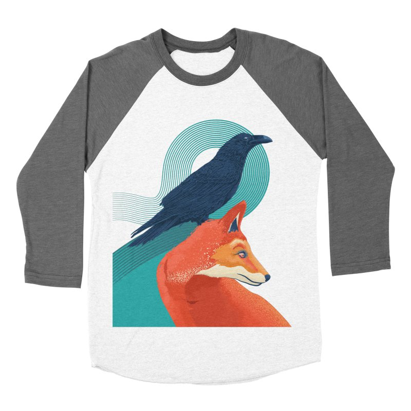 Friends or enemies? Men's Baseball Triblend T-Shirt by PAgata's Artist Shop
