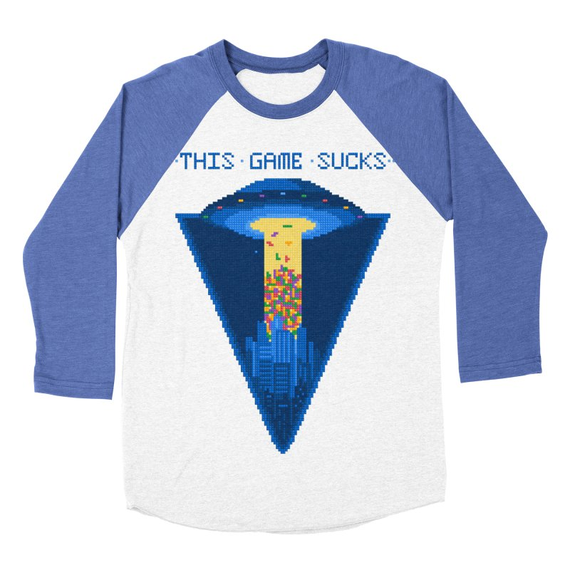 So easy game Men's Baseball Triblend T-Shirt by PAgata's Artist Shop