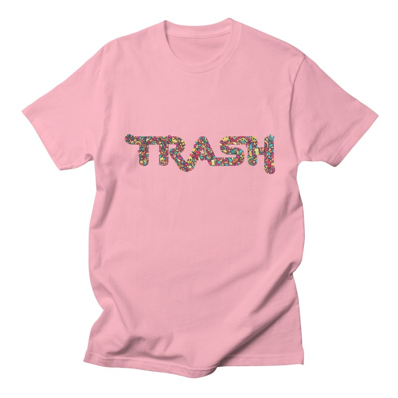 Not all trash are dirty. Men's T-shirt by pagata's Artist Shop