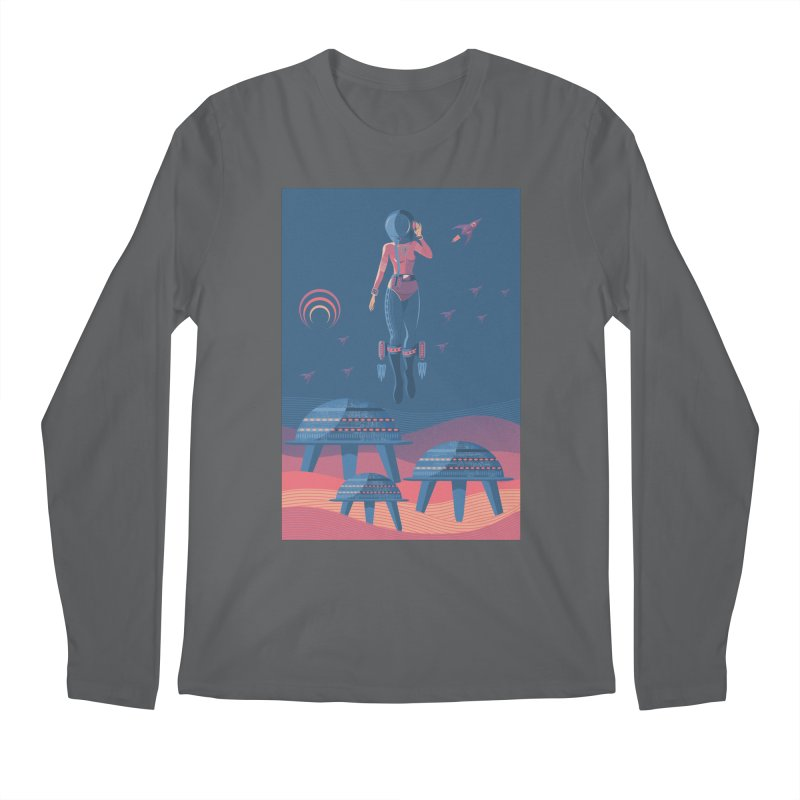 Bye! honey! Men's Longsleeve T-Shirt by pagata's Artist Shop