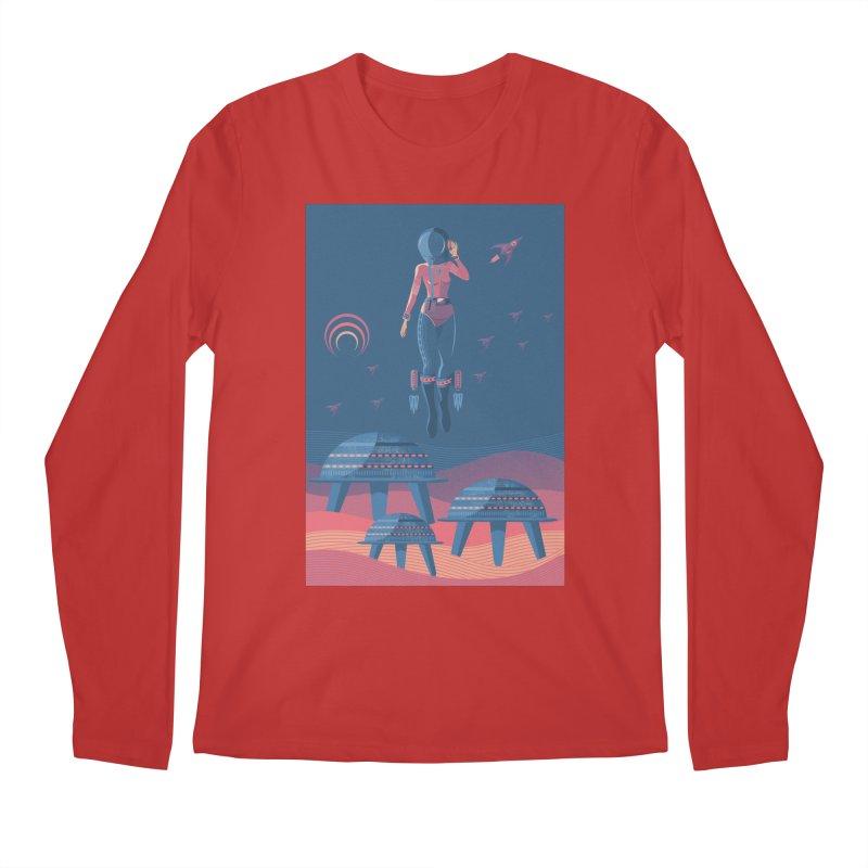 Bye! honey! Men's Longsleeve T-Shirt by pagata's Artist Shop