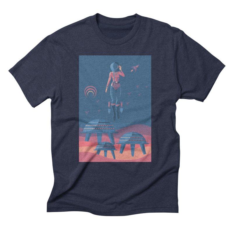 Bye! honey! Men's Triblend T-Shirt by PAgata's Artist Shop