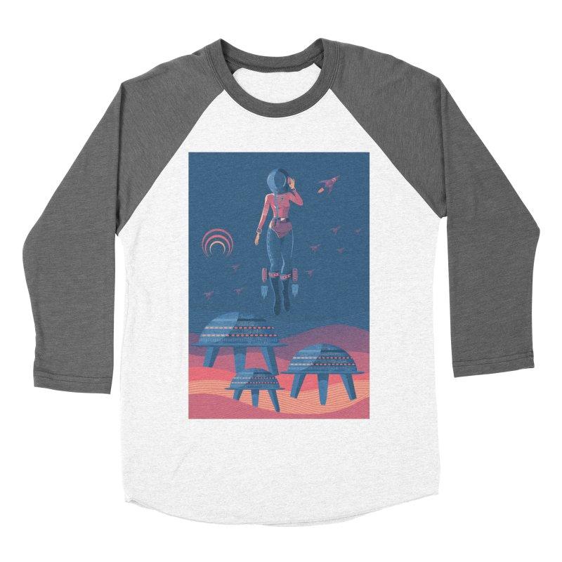 Bye! honey! Men's Baseball Triblend T-Shirt by PAgata's Artist Shop