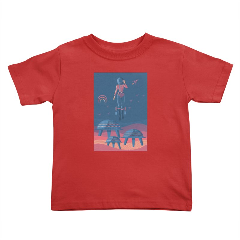 Bye! honey! Kids Toddler T-Shirt by pagata's Artist Shop