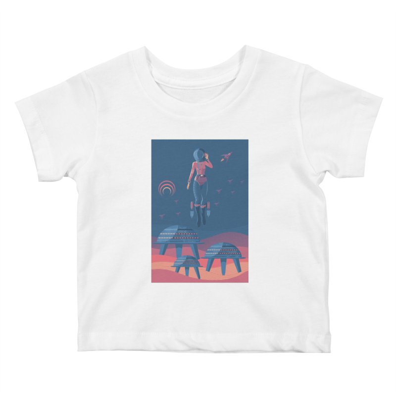Bye! honey! Kids Baby T-Shirt by pagata's Artist Shop
