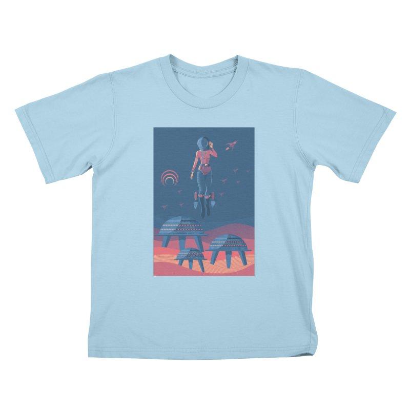 Bye! honey! Kids T-Shirt by pagata's Artist Shop