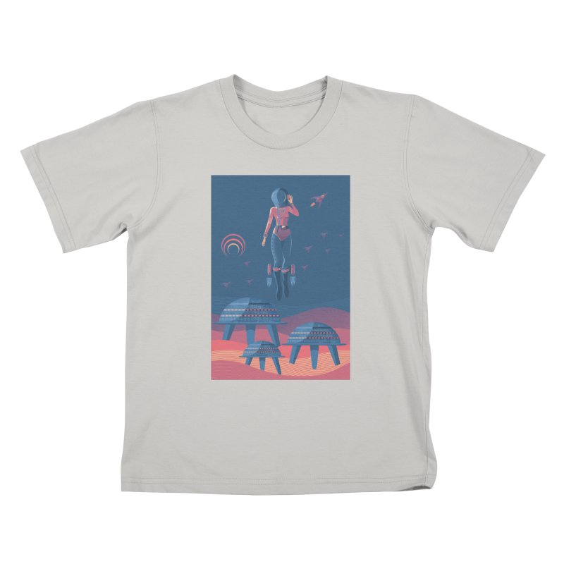 Bye! honey! Kids T-shirt by pagata's Artist Shop