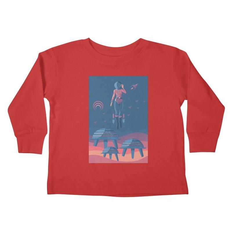 Bye! honey! Kids Toddler Longsleeve T-Shirt by pagata's Artist Shop