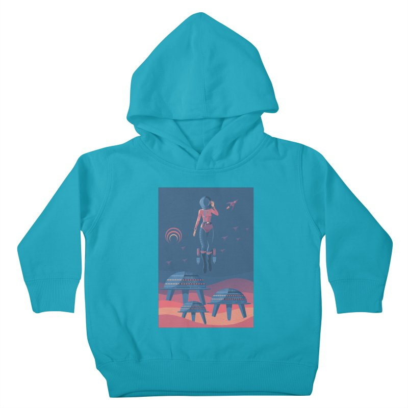 Bye! honey! Kids Toddler Pullover Hoody by pagata's Artist Shop